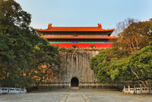 CHina Nanjing Ming Tomb Front