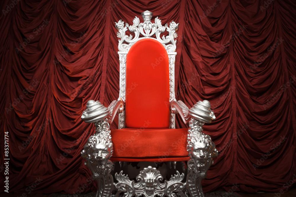 Fototapeta Regal Throne
