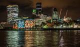 Fototapeta London - Londyn nocą