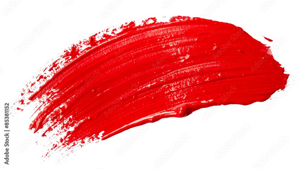 Fototapeta Red paint