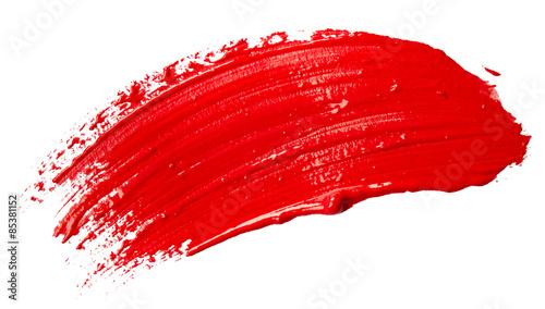 Fototapeta Red paint obraz