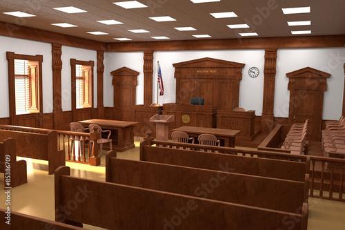 Obraz courtroom - fototapety do salonu