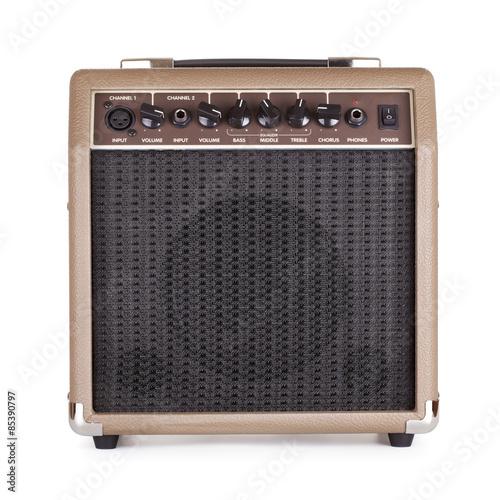 Guitar Amplifier Fototapeta