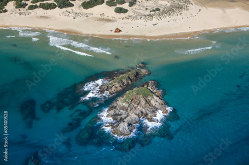 Spoed Foto op Canvas Oceanië Vista aerea - Sardegna