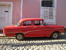 Oltimer Auf Kuba
