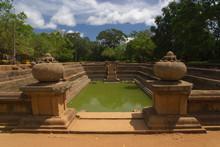 Kuttam Pokuna - Twin Pond In Anuradhapura, Sri Lanka