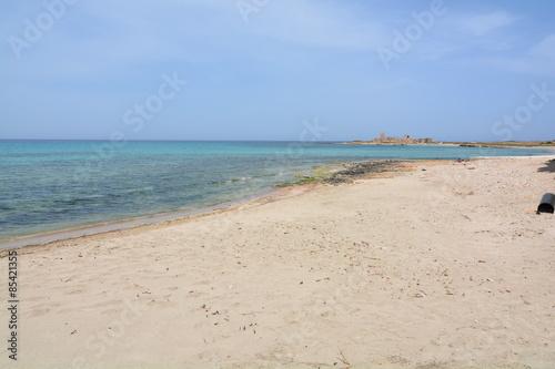 Photo  spiaggia di trapani sicilia