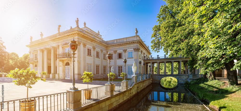 Fototapety, obrazy: Lazienki Palace, Warsaw, Poland