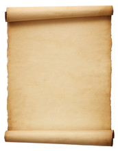 Old Antique Scroll Paper