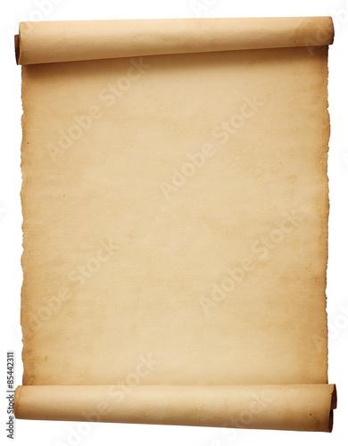 Fotografiet Old antique scroll paper