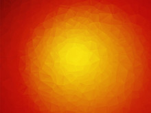 Red Sun Yellow Orange Background