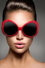 Beauty Fashion Model Brunette ...