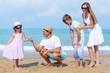 Beach, grandchildren, grandchild.