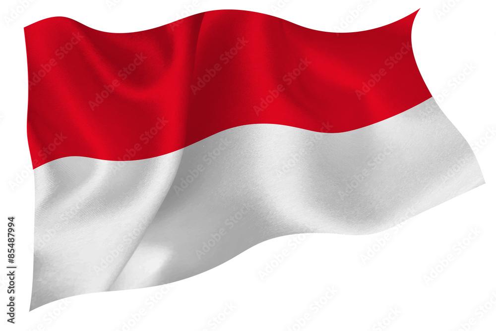 Fototapeta インドネシア  国旗 旗