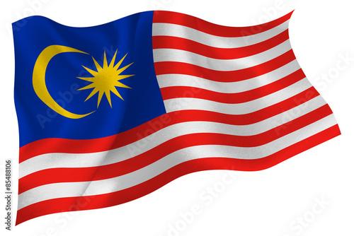 Fotografía  マレーシア  国旗 旗