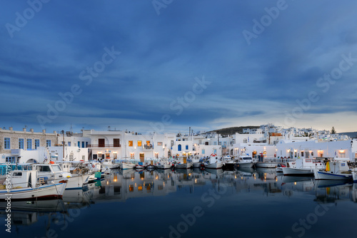 City on the water Famous Naoussa - Paros island