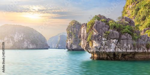 Halong Bay seascape, Vietnam