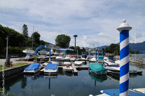 Fototapeta  Sportboothafen Luino