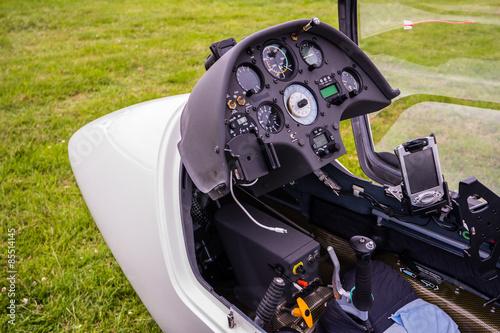 Cockpit Segelflieger