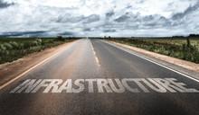 Infrastructure Written On Rural Road