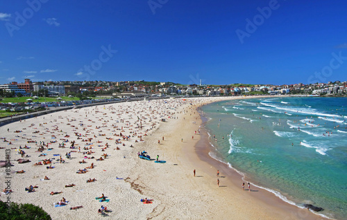 Photo sur Toile Australie Bondi Beach in Sydney, Australia