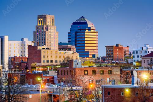 Obraz Durham, North Carolina Skyline - fototapety do salonu