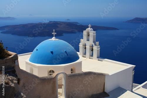 Fototapety, obrazy: Santorini in Greece