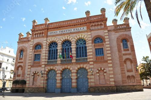 Gran Teatro Falla, carnavales de Cádiz, Andalucía, España