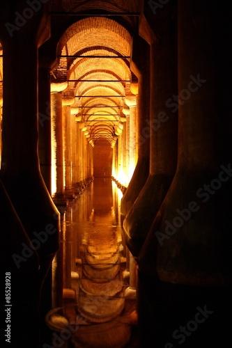 Underground Cistern in Istanbul Plakát