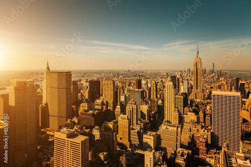Manhattan Skyline, New York - 85538182