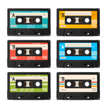 Vector Cassette Tape Collection