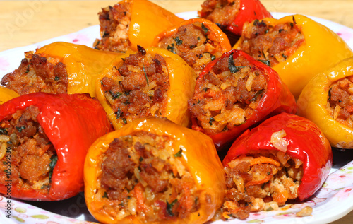 Poster Appetizer Stuffed Peppers