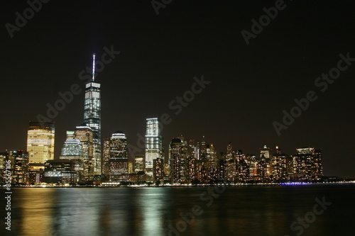 Manhattan night Poster