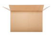 canvas print picture - Opened cardboard box.