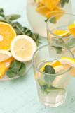 Cytrusowy drink z miętą