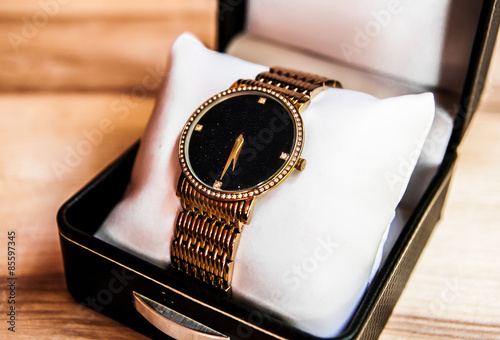 Womens Golden Watch