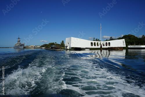 Photo  Departing Pearl Harbor