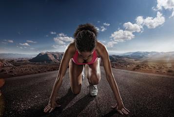 FototapetaSport. Runner.