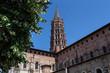 France. Basilique Saint-Sernin de Toulouse