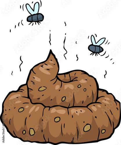 Photo  Cartoon poop