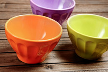 Colorful Bowl On Table