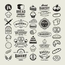 Bakery Logotypes Set.