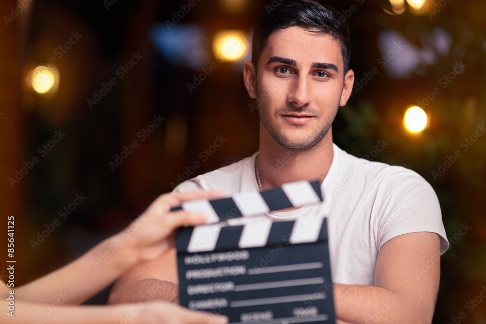 Fototapety, obrazy: Professional Actor Ready for a Shoot