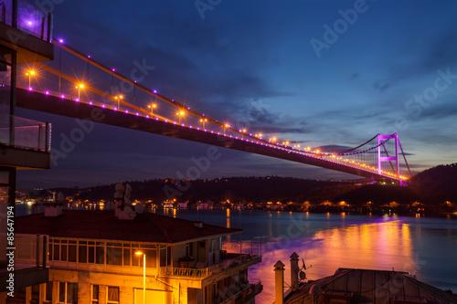 Fatih Sultan Mehmet Bridge Poster