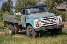Old Abandoned Rusty Grunge Car