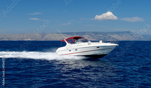 Cadres-photo bureau Nautique motorise Motor speed boat