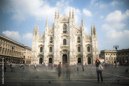 Piazza Duomo a Milano Plakát