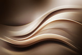 Gold Brown Modern Abstract Waves Background - 85670588