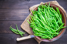 Green Beans Or Fine Beans On R...