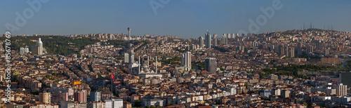 Panoramic Ankara Canvas Print